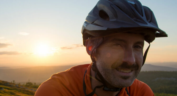 Landsvägscyklist i Vemdalen